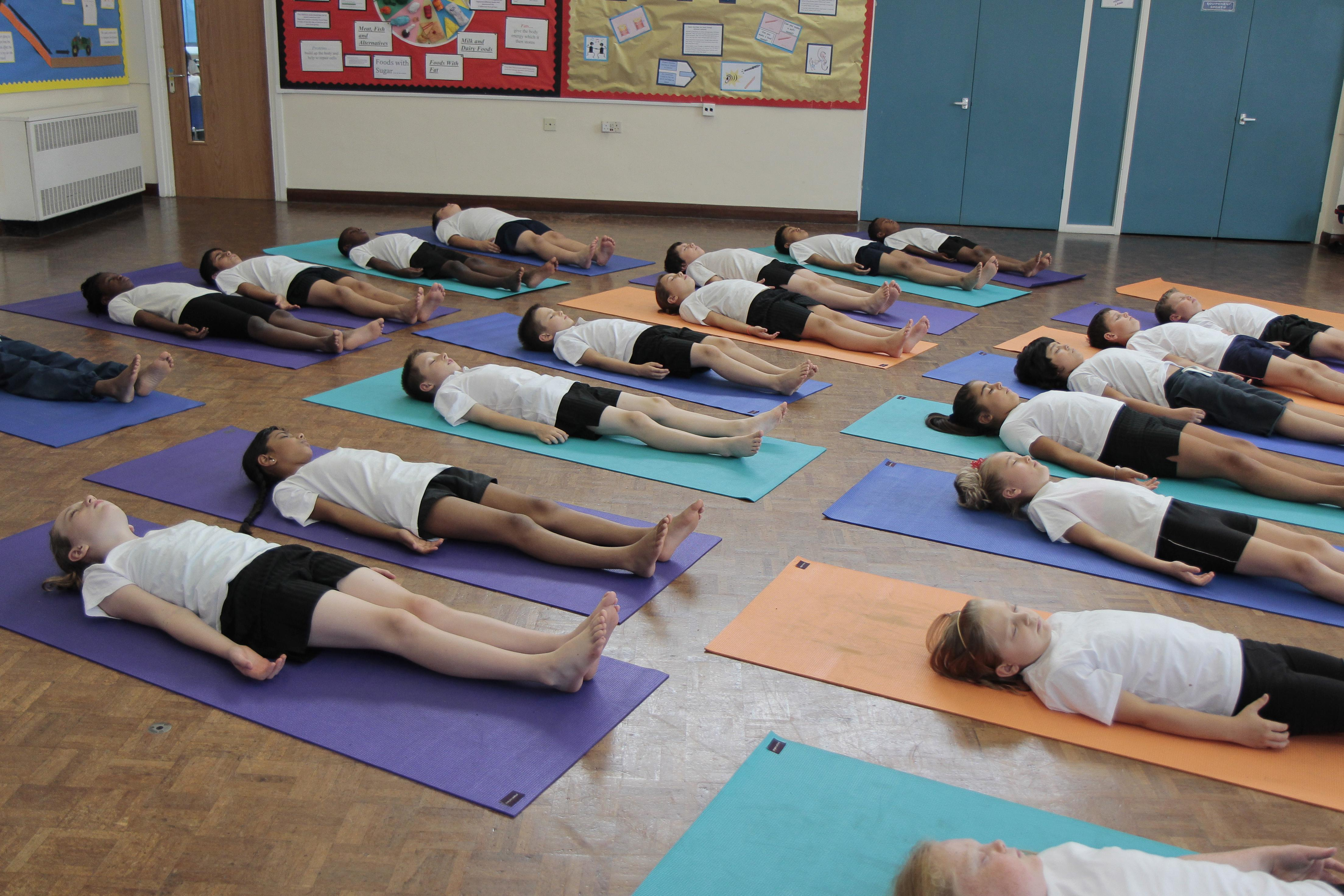 Everyone Included in the Yoga Lesson. Anita's Story