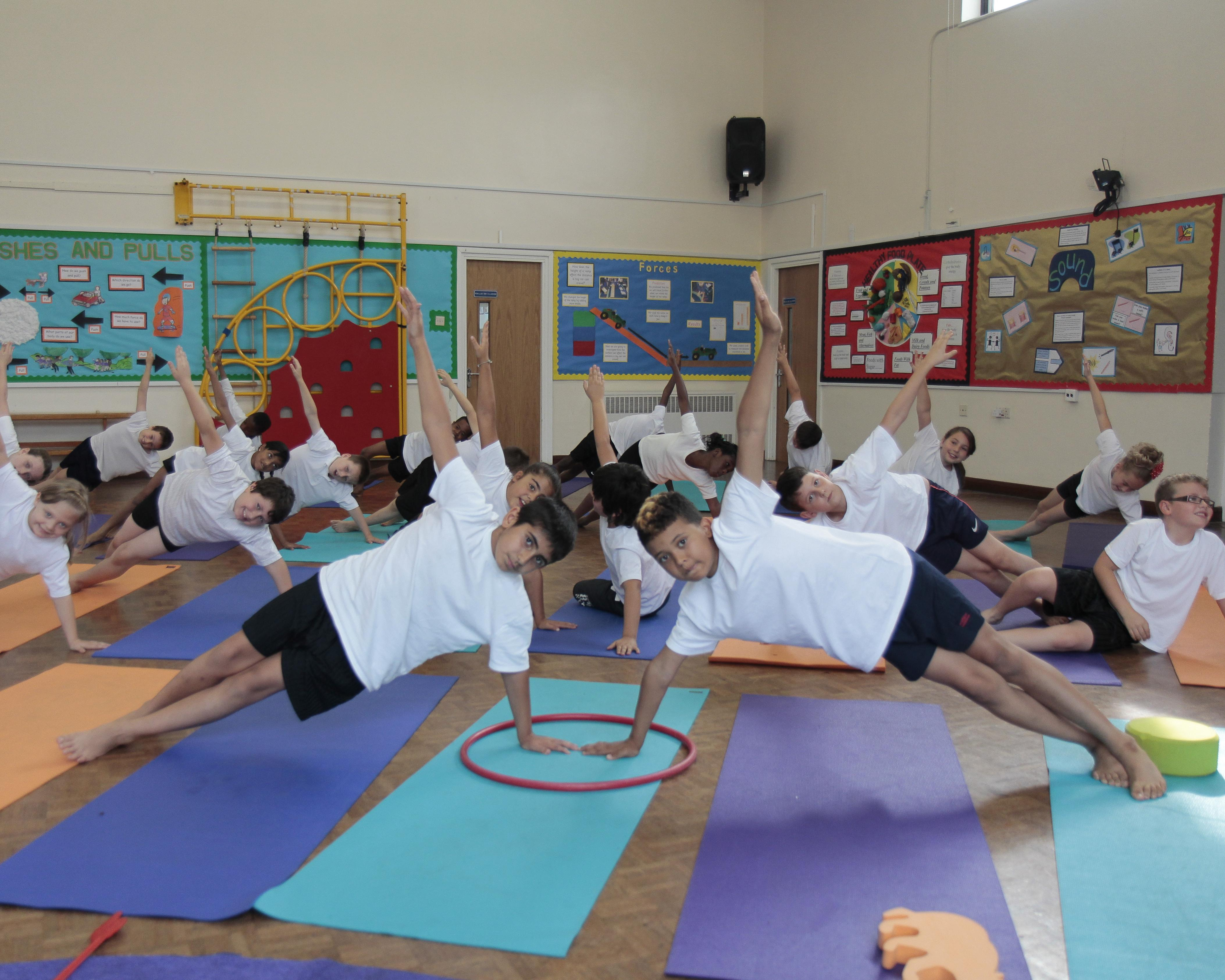 Heads, would you know a good children's yoga teacher if you met one?