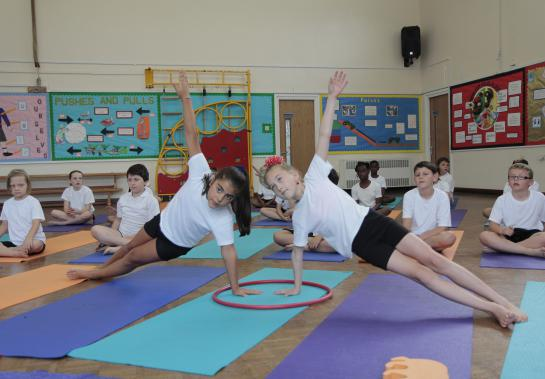 Yoga as part of the school day knocks spots off of after schools clubs. Discuss