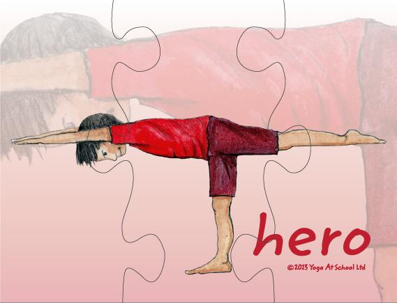 Yoga Jigsaws<br />Challenging Postures Set D