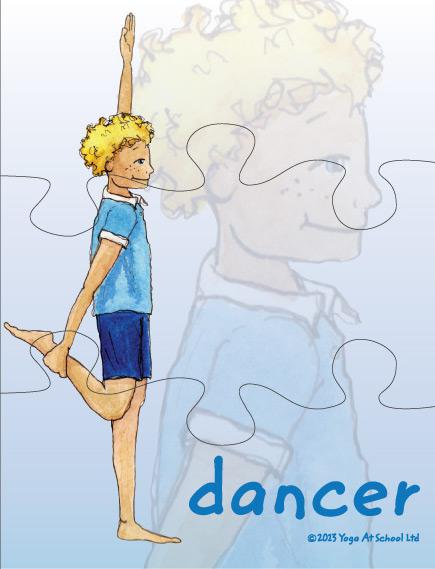 Yoga Jigsaws<br />Challenging Postures Set D