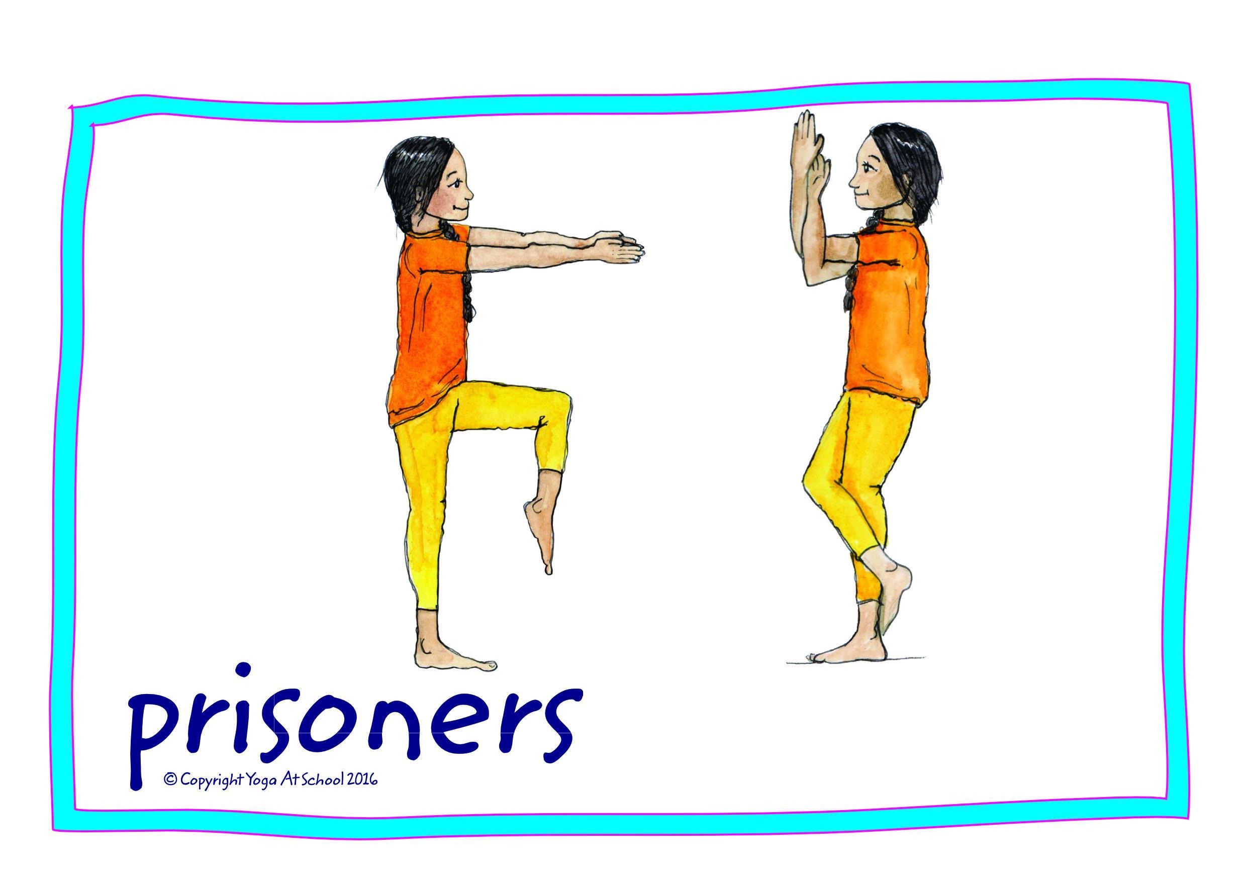 Children's Yoga Games Cards