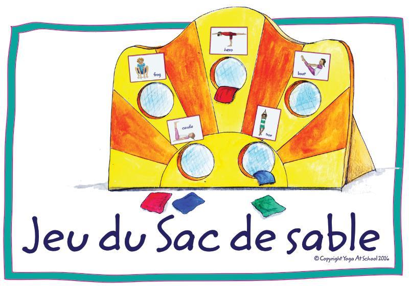 Cartes-jeux de yoga pour enfants