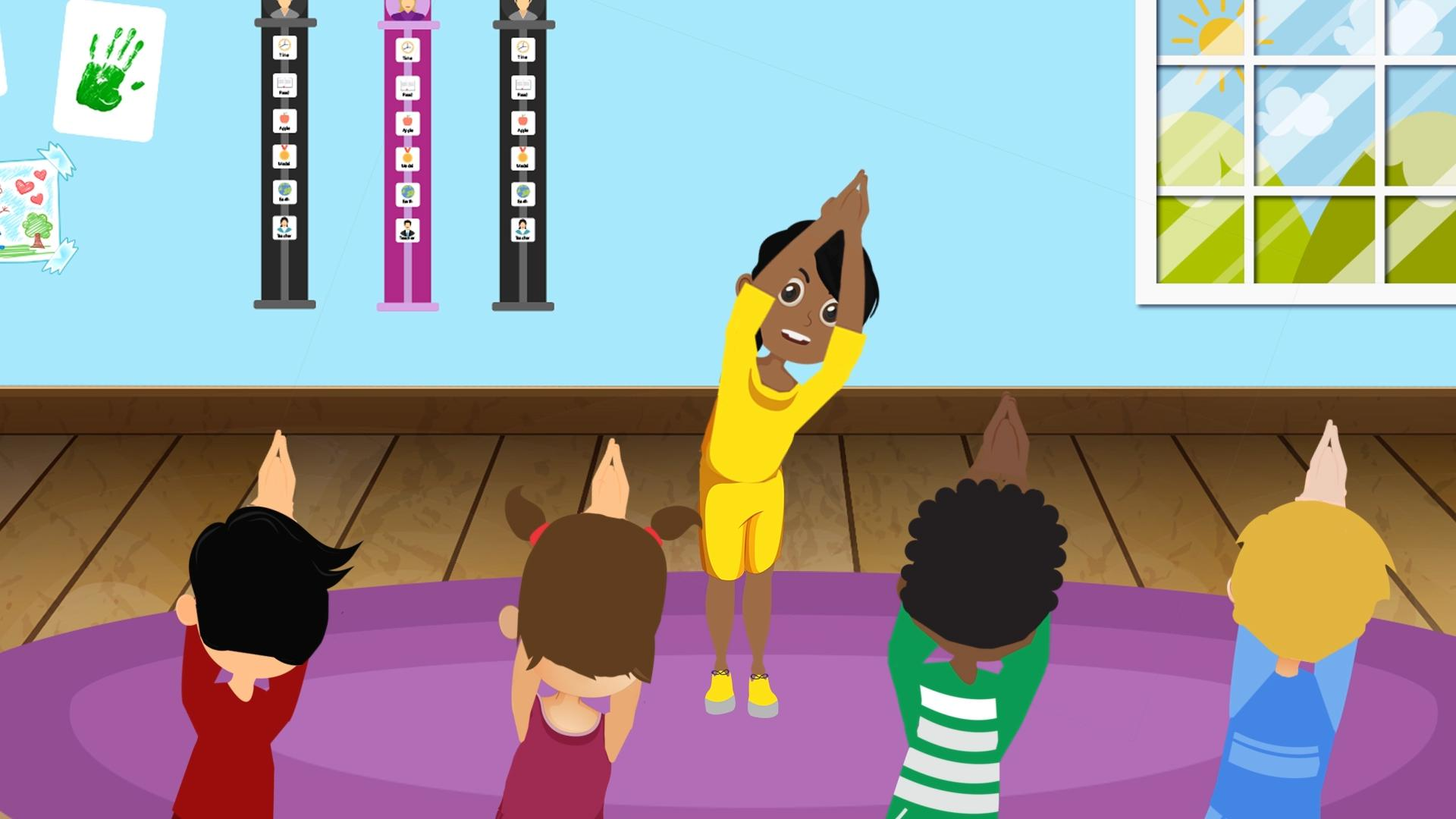 Yoga for Children & Young People with Autism - An Animated Video