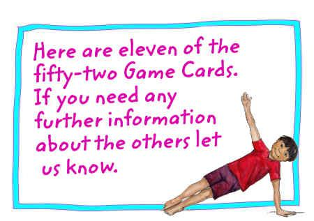 Children's Yoga Games Cards