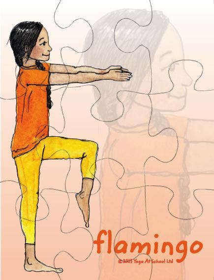 Yoga Jigsaws<br />Intermediate Set G
